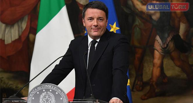 İtalya Başbakanı Matteo Renzi istifasını sundu