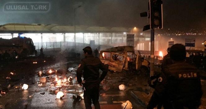 Beşiktaş'ta patlama, İstanbul Beşiktaş'ta terör saldırısı… İlk görüntüler
