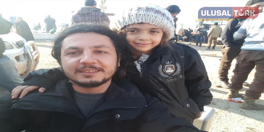 Halepli Bana ve ailesi tahliye edildi