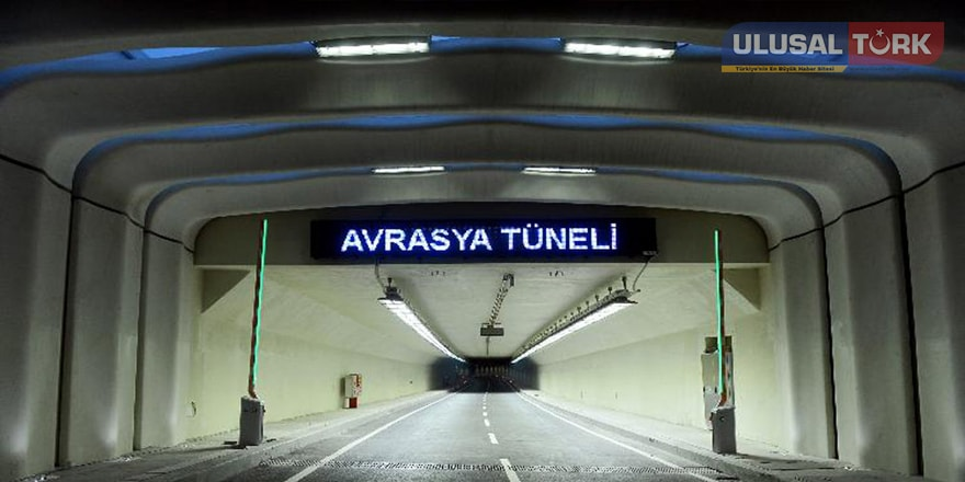 Avrasya Tüneli'nden geçişler yarın başlıyor