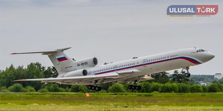 Rus uçağı düştü! Kurtulan yok