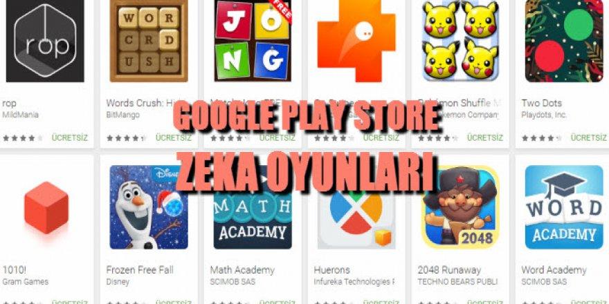 Çocuklara Google Play store'dan 5 zeka oyunu
