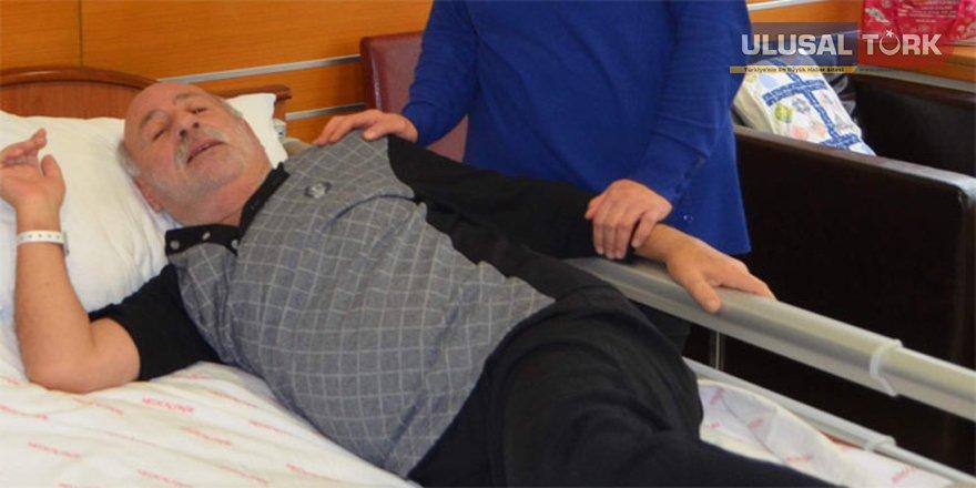 Kalp krizi geçirdi, kanserden kurtuldu
