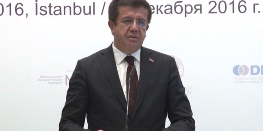 Bakan Zeybekçi Türkiye-Moldova İş Forumu'nun açılışında konuştu