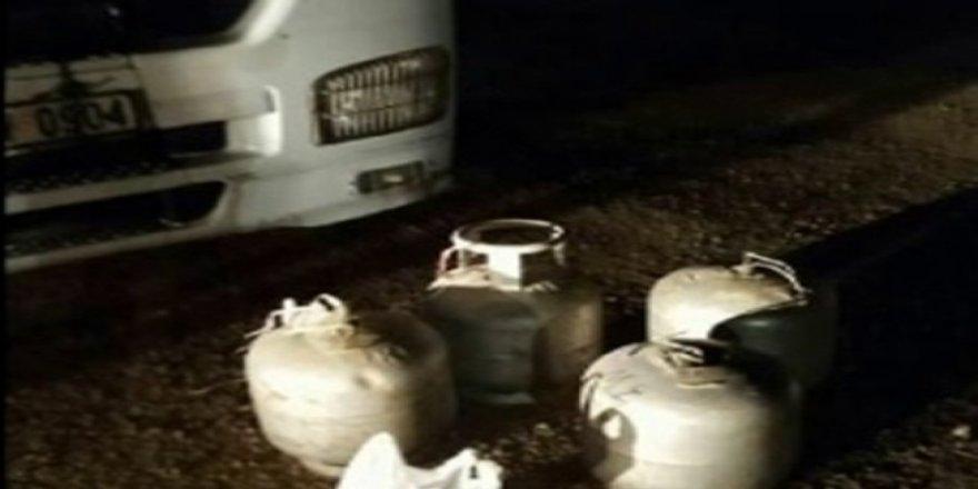 Mardinde patlayıcı yüklü araç yakalandı