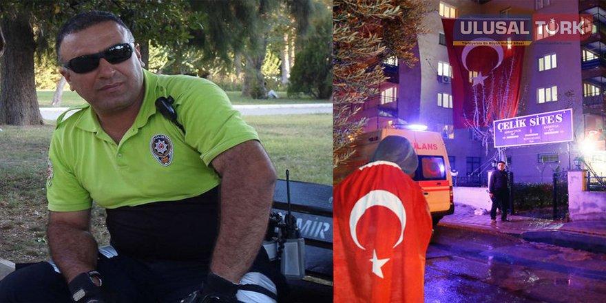 Kahraman polis canı pahasına faciayı önledi