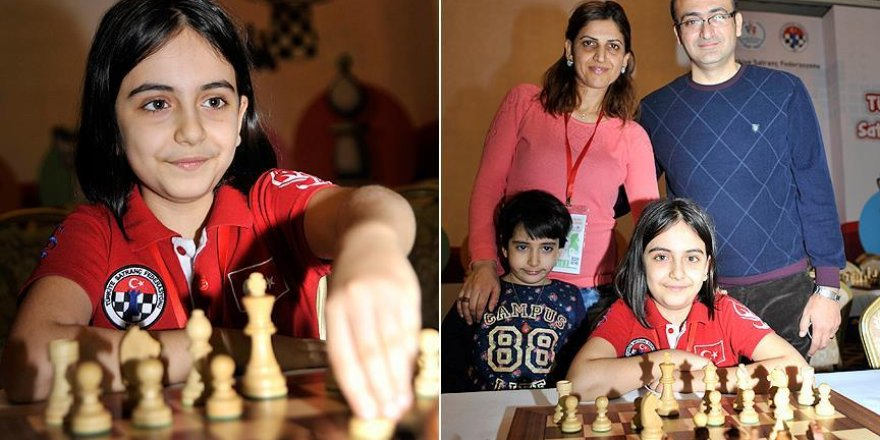 Kreşten dünya satranç şampiyonasına