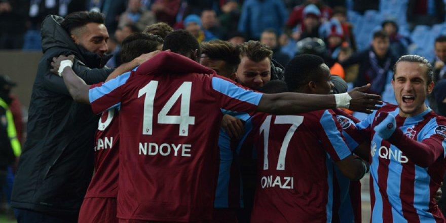 Trabzonspor – Gaziantepspor: 4-0 (Geniş Özet)