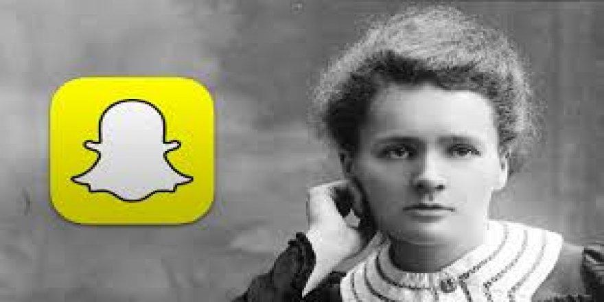 Snapchat'in Madam Curie filtresi tepki çekti