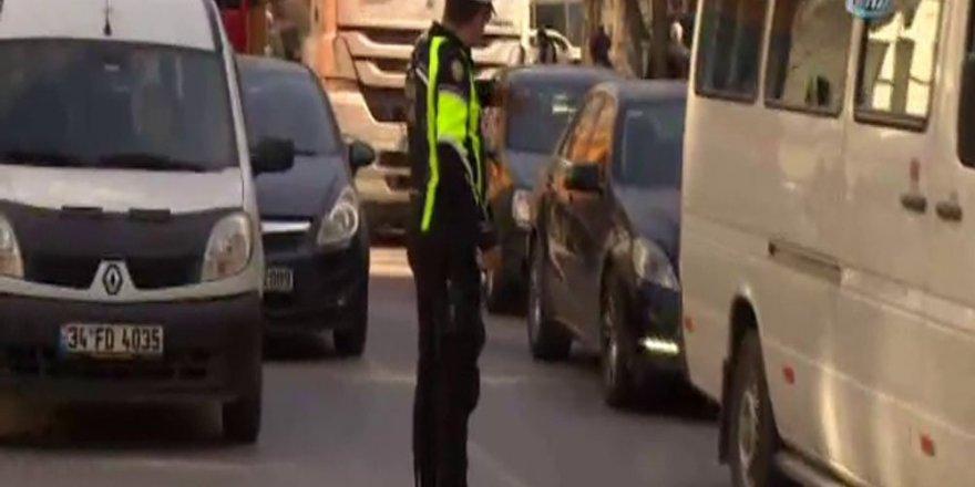 Trafikte palakalarını kapatanlara ceza yağdı