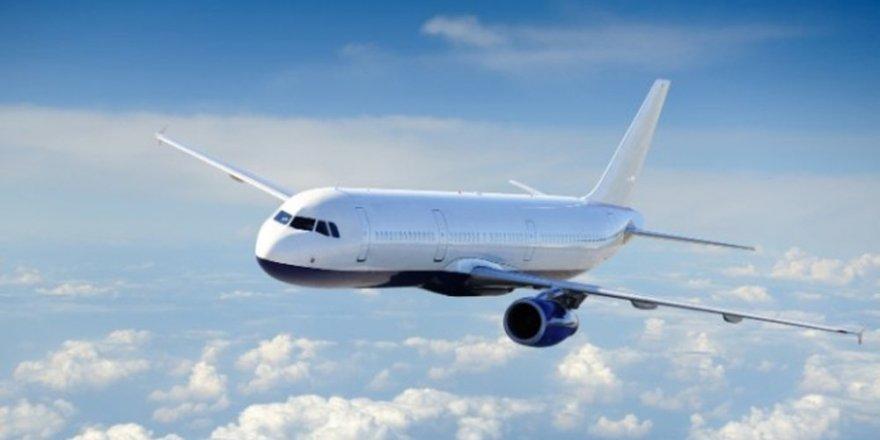 İki yolcu uçağına yıldırım çarptı
