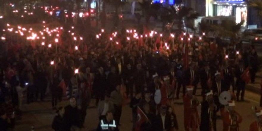 Mersinliler Çanakkale zaferini böyle kutladılar