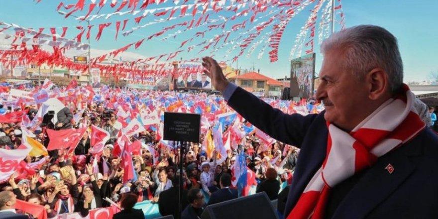 Yıldırım Erzincan'da konuştu