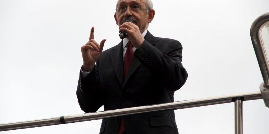 """Kemal Kılıçdaroğlu """"Evet demenin vebali ağırdır"""""""