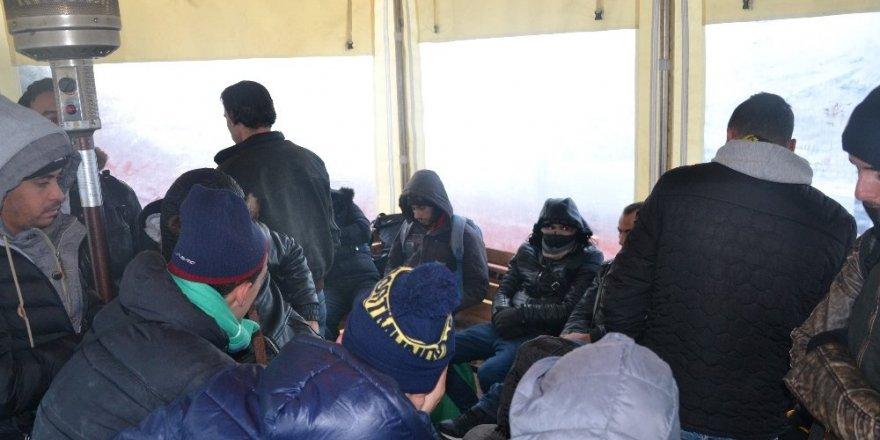 Tekirdağ'da 24 kaçak göçmen yakalandı