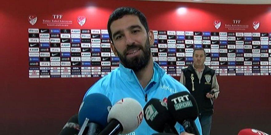 Arda Turan:''Bugün cenk'in golleriyle erken çözdük''