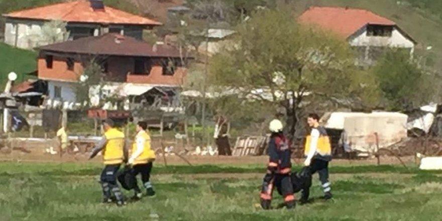 Adapazarın'da  feci yangın: 3 çocuk can verdi