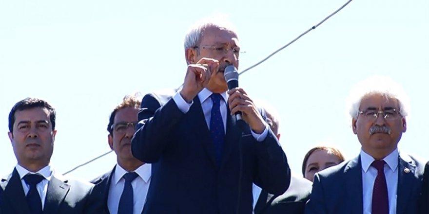 """Kılıçdaroğlu""""Bu parti değil demokrasi meselesidir"""""""