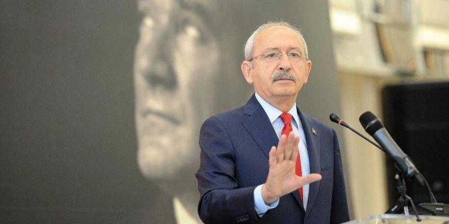 """Kemal Kılıçdaroğlu""""Yeni anayasa bir parti devleti oluşturacak"""""""