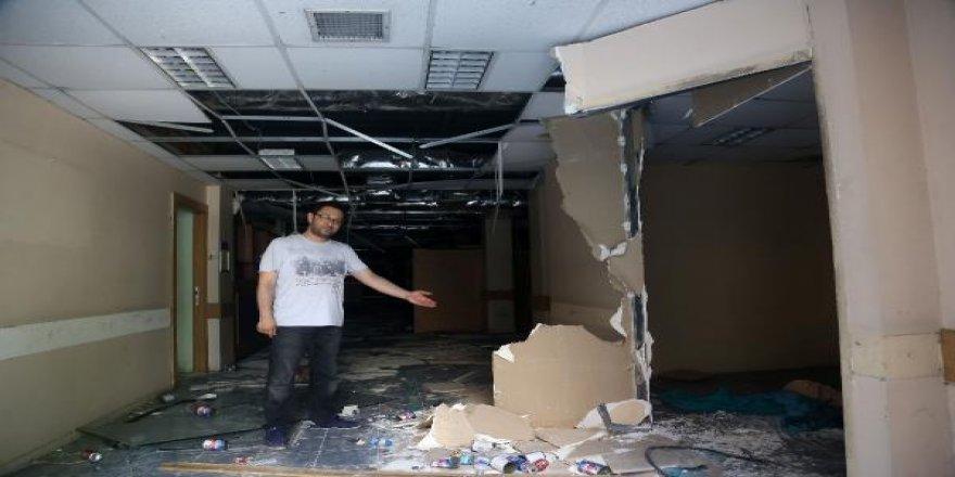Eski Hastane Yağmalandı
