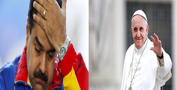 Maduro'dan Papa'ya Çağrı