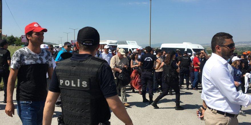 Adalet Yürüyüşü'nün Üçüncü Gününde Gözaltı