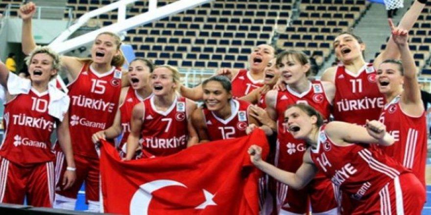 Basketbolda Milli Kadınlarımızın Gücü!