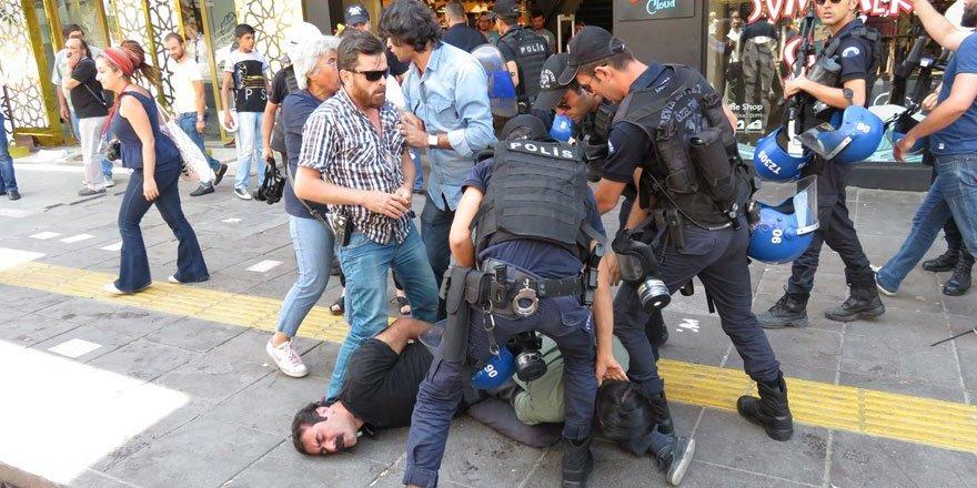 Güvenlik güçleri, Nuriye ve Semih protestosuna ağır müdahale etti