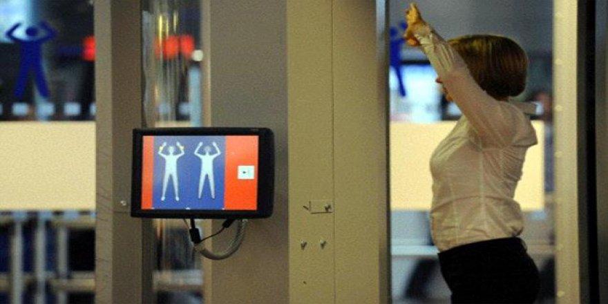 Atatürk Havalimanı'nda vücut tarayıcıları kullanıma girdi