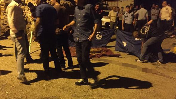 Sokak ortasında infaz edildi