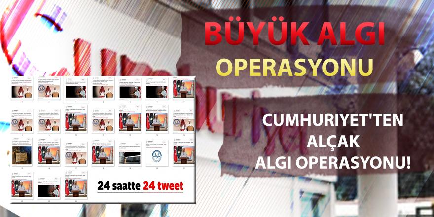 Cumhuriyet Gazetesin'den Diyanet üzerinden algı operasyonu