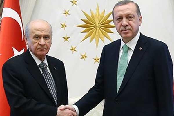 Cumhurbaşkanı Erdoğan ve MHP Lideri Bahçeli Arasındaki Zirve Bugün Saat 16:00'da