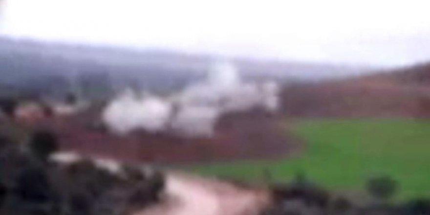 Operasyon öncesi TSK PYD mevzilerini böyle vurdu