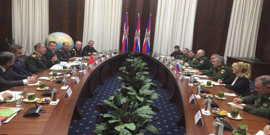 Genelkurmay Başkanı Orgeneral Akar, Rusya'da