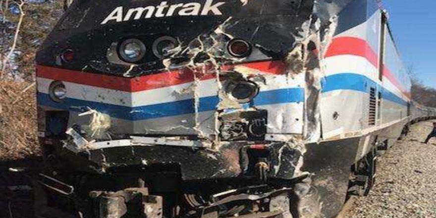 ABDde Cumhuriyetçi vekilleri taşıyan tren kaza yaptı 34