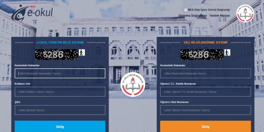 Veli Bilgilendirme Sistemi 2018 E-Okul giriş sayfası! MEB