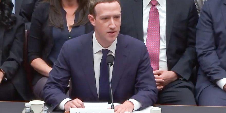 Mark Zuckerberg 5 saat boyunca ifade verdi