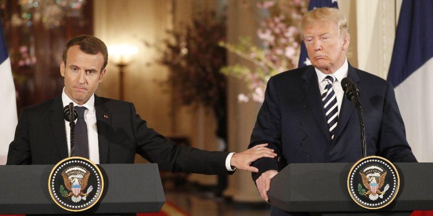 Macron Ve Trump'tan İran Açıklaması