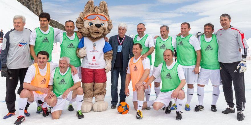 Sovyetlerin Efsaneleri Kar Üstünde Futbol Oynadı