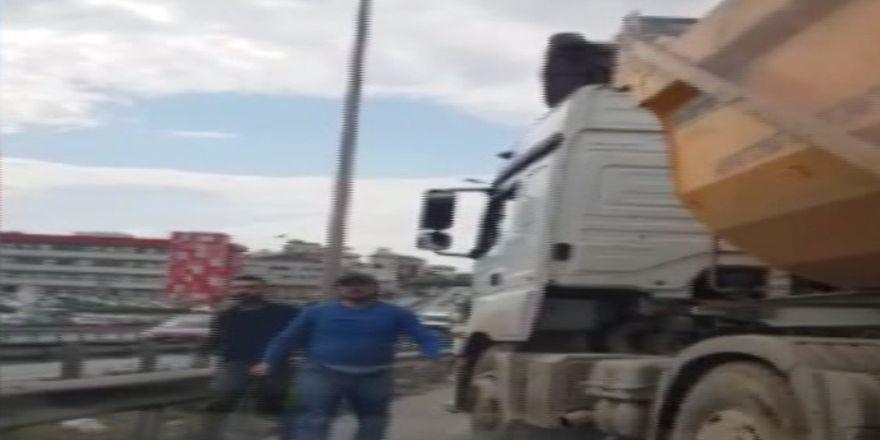 İstanbul'da Kamyoncu Dehşeti