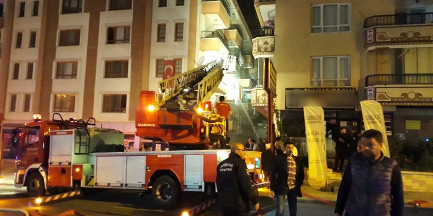 Ankara'da Apartman Dairesinde Patlama