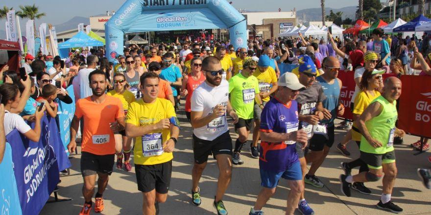 Global Run Yarışlarında Binlerce Kişi Ter Döktü
