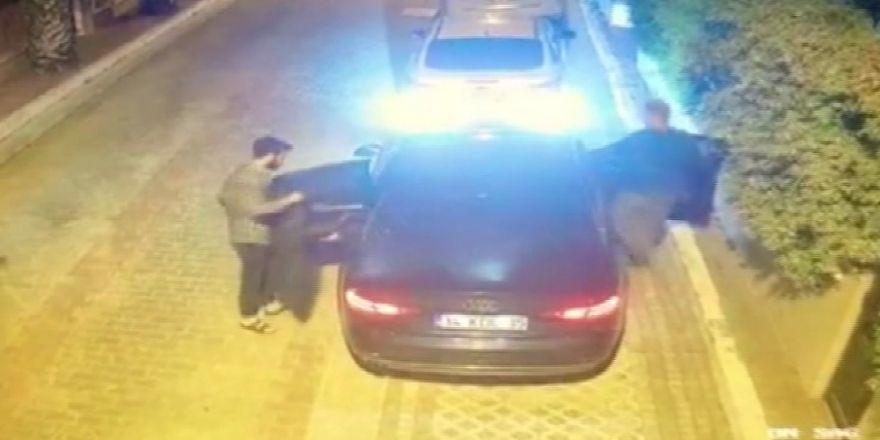 Ankara'da öldürülen işadamının Katil Zanlısı Holding Patronunun Kaçma Anı Kamerada