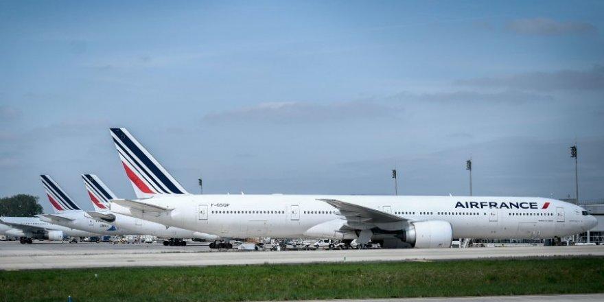 Fransa-Hollanda ortak sermayeli hava yolu şirketi Air France batıyor