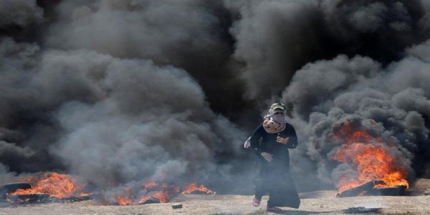 İsrail Terörü :18 Şehit 300 Yaralı