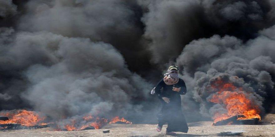 İsrail Katliam yapıyor: 43 Ölü 1700 Yaralı