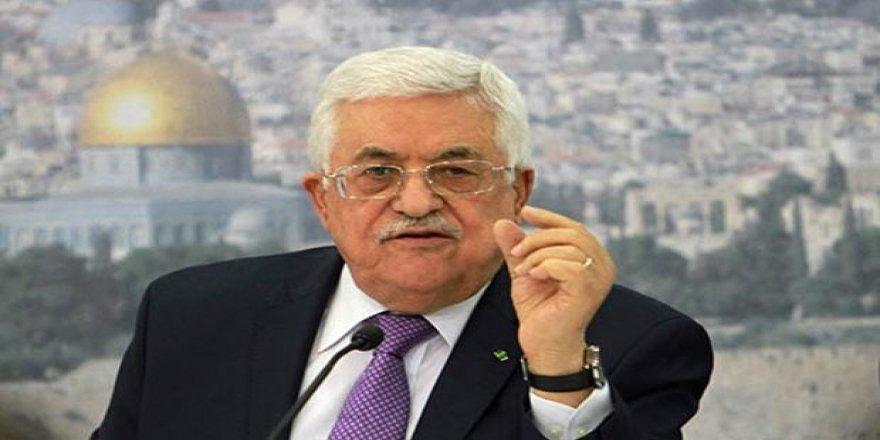 Filistin Devlet Başkanı Abbas:Mücadaleden Vazgeçmeyeceğiz