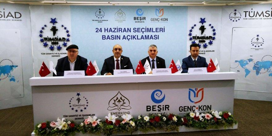 Menzil Cemaatin'den Erdoğan ve Cumhur İttifakı'na destek