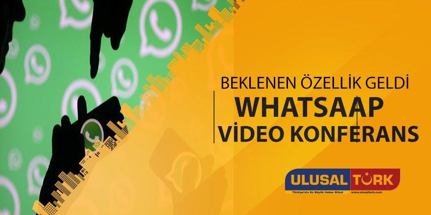 Whatsaap video konferas özelliği test ediliyor