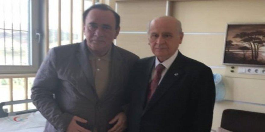 MHP Lideri Devlet Bahçeli Alaattin Çakıcı'yla görüştü